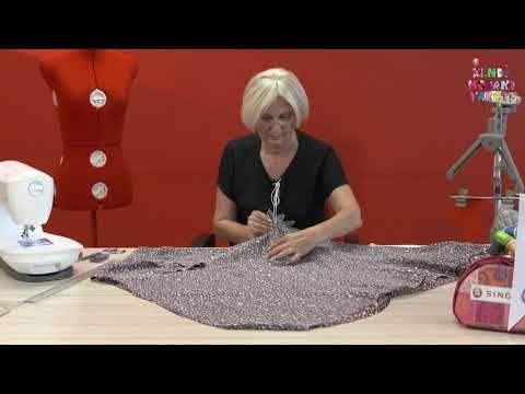 Kalıp Kullanmadan Pratik Etek Dikimi / Sadece Bel Ölçüsüyle Kolay Etek / How to Practice Skirt? - YouTube
