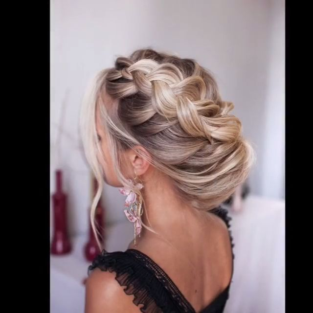 Tonyastylist Long Wedding Hairstyles and Wedding Updos Ideas - diy wedding updo hairstyle tutorial #wedding #hairstyles #weddingideas #hair