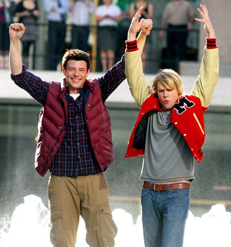 Cory Monteith, Chord Overstreet