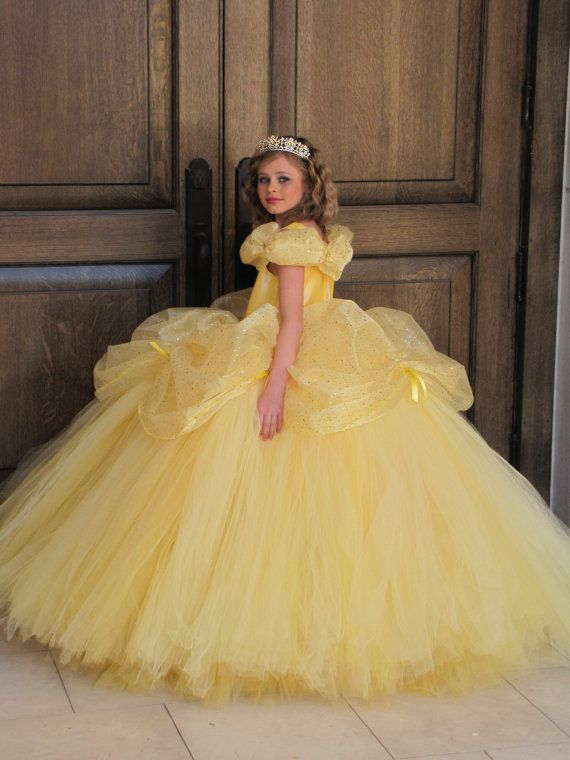 Disney Belle costume Belle dress Beauty and the Beast Dress
