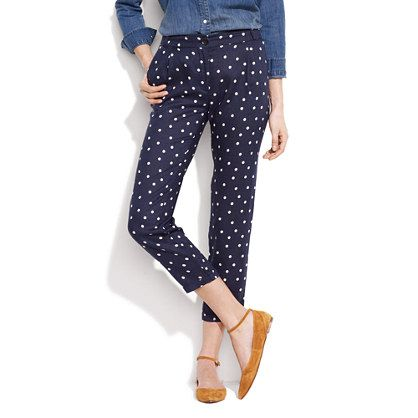 "++ Sessùn™ Polka-Dot ""Memory House"" Trousers"