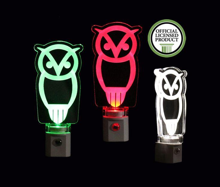 Chi Omega Owl LED Night Light #chiomega #owl #sorority #fraternity #college #University