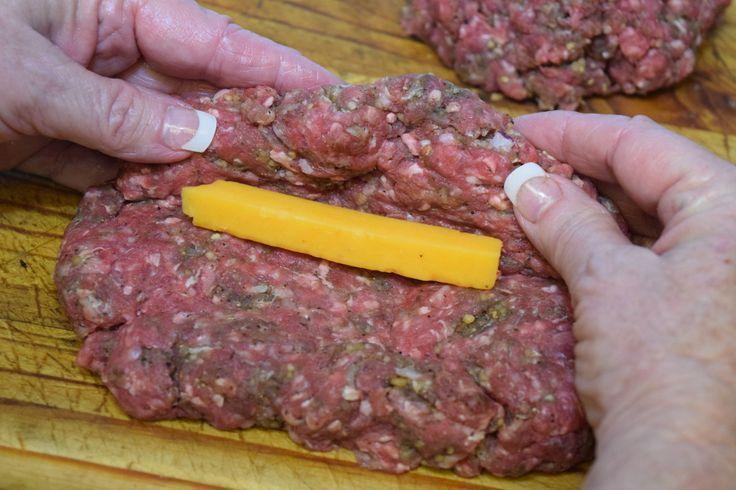 Stuffed Burger Dogs, wood pellet grill, BBQ, smoker, recipe