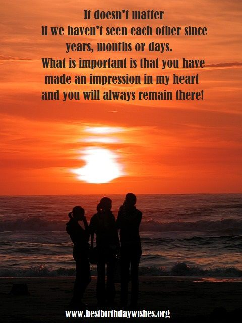Friends That You Havent Seen In Awhile Quotes : Best images about birthday messages on