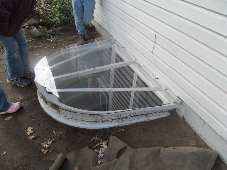 We Made This Egress Window Well Cover Out Of 1 4 Inch
