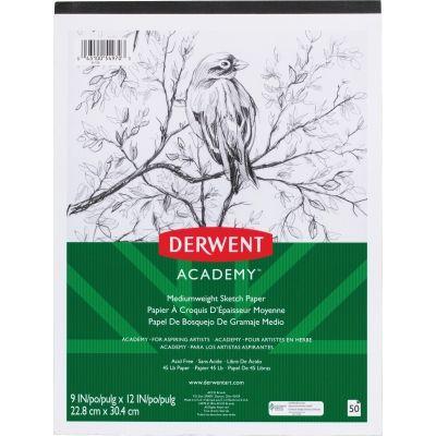 Mead 54970 Academy Medium-weight Sketch Pad #54970 #Mead #PaperPads/NotePads  https://www.officecrave.com/mead-54970.html