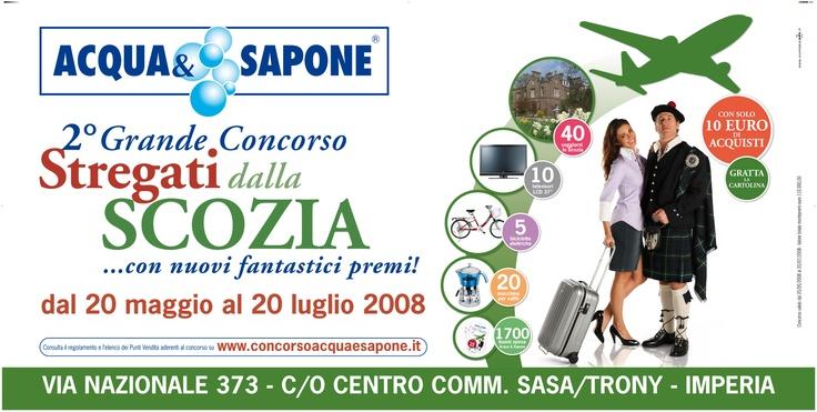 """GRANDE CONCORSO ACQUA 2008 """"STREGATI DALLA SCOZIA"""""""