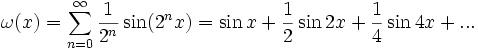 Further Maths Interest - Weierstrass Function