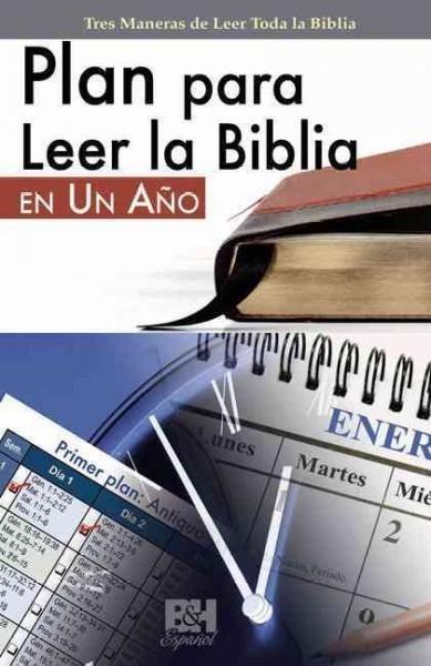 Plan para Leer la Biblia en Un Ano / Plan To Read The Bible in One Year