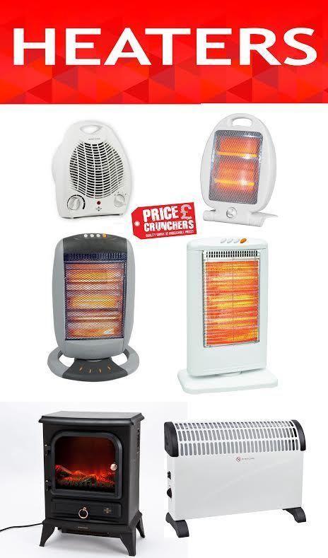 Home Office Patio Floor Portable Electric Heaters   Halogen Convector Fan  Heater