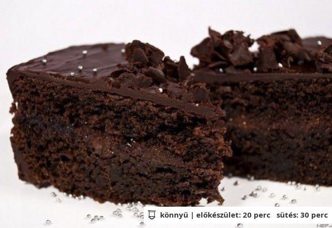 Sacher torta 3. - gyors