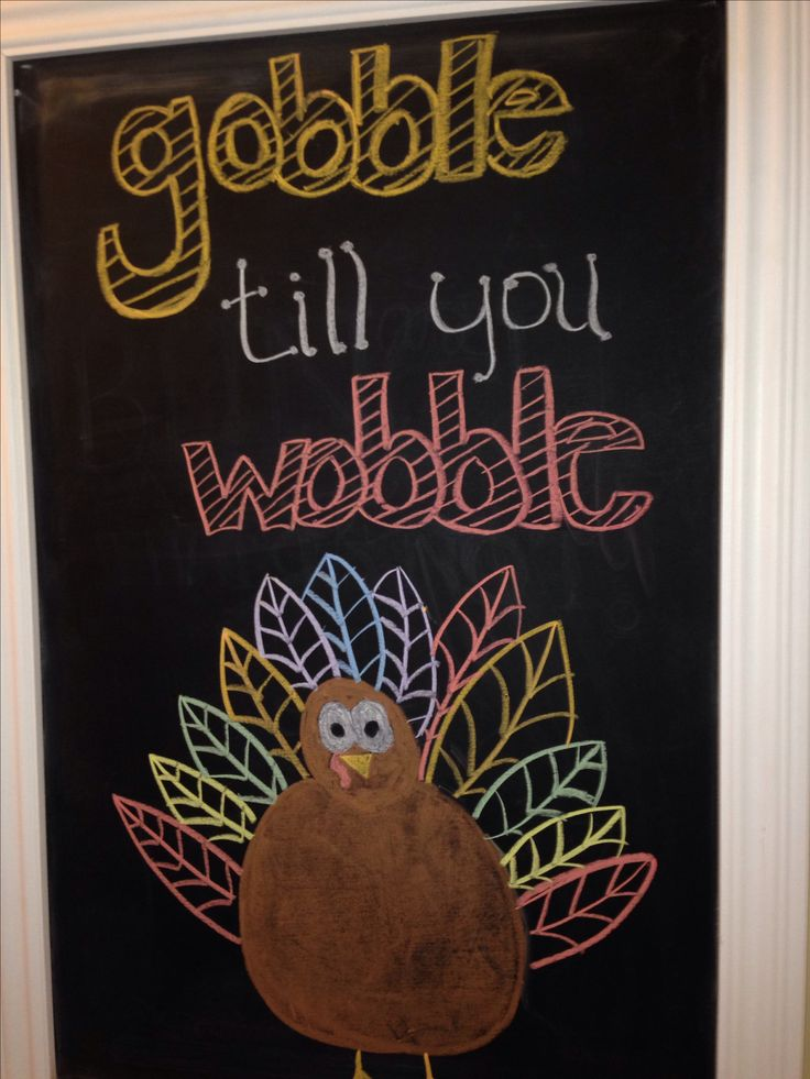 #Thanksgiving chalkboard -- cute idea! #happythanksgiving #november