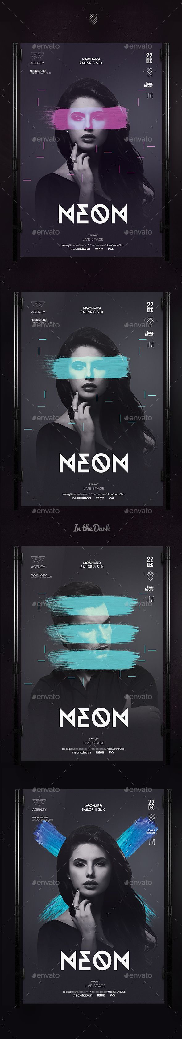 Club Flyer Template PSD #design Download: http://graphicriver.net/item/club-flyer/13445186?ref=ksioks