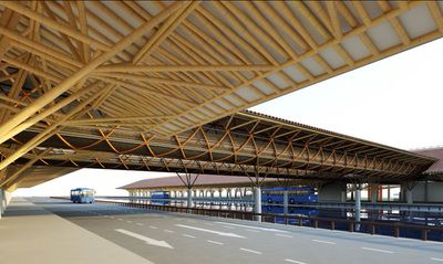 Bus terminal concept - Colombia - SIMÓN VÉLEZ