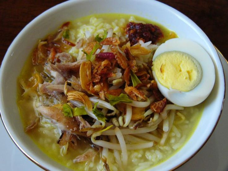 This is Soto with rice. Another way to enjoy this delicacy!