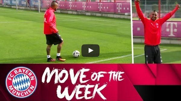 Piłkarz Bayernu Monachium wkręcił piłkę do bramki • Oto niesamowity trik piłkarski Arturo Vidala • Wejdź i zobacz sztuczkę Vidala >> #bayern #bayernmunich #vidal #football #soccer #sports #sport #pilkanozna #futbol