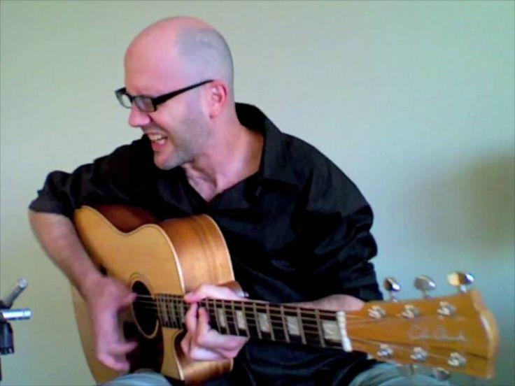 """Adam Rafferty - """"Play It Back"""" - Solo Fingerstyle Blues Guitar & Human B..."""