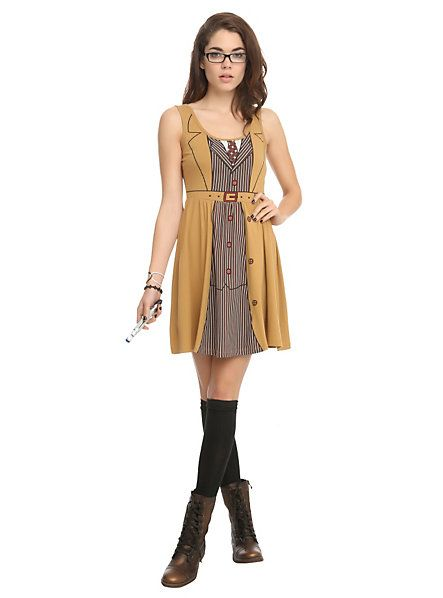 Doctor Who Her Universe David Tennant Tenth Doctor Costume Dress   Hot Topic