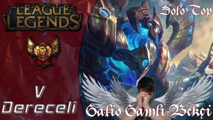 Galio Solo Top League of Legends Siz Hepiniz Ben Tek