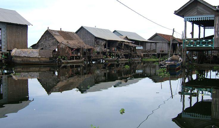 Kompong Phluk floating village Tonle Sap Lake Siem Reap Cambodia guiddoo