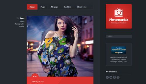 Download Photographia v1.1 Cssigniter Wordpress Theme - Theme Lock