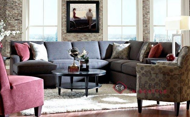 Metropia Clark Transitional Sectional Sofa   Ruby Gordon Furniture U0026  Mattresses   Sectional Sofas | House Ideas | Pinterest | Transitional  Sectional Sofas, ...