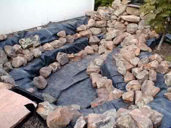 14 best fish pond ideas images on pinterest backyard for Step 2 rocking fish