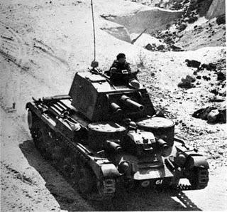 Aparecen los primeros tanques británicos en el Frente Este - 25/11/1941.