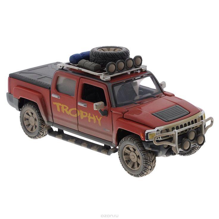 Maisto Модель автомобиля Hammer H3T цвет песочный