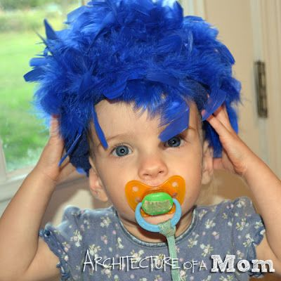 Architecture of a Mom: How to Make a Halloween Wig for Cheap