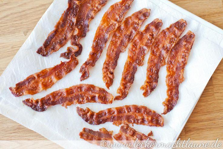 Unter anderem schmeckt das Bacon-Salz zu Spiegeleiern, Bratkartoffeln und im Salat ganz toll. Und dabei ist es so einfach gemacht...