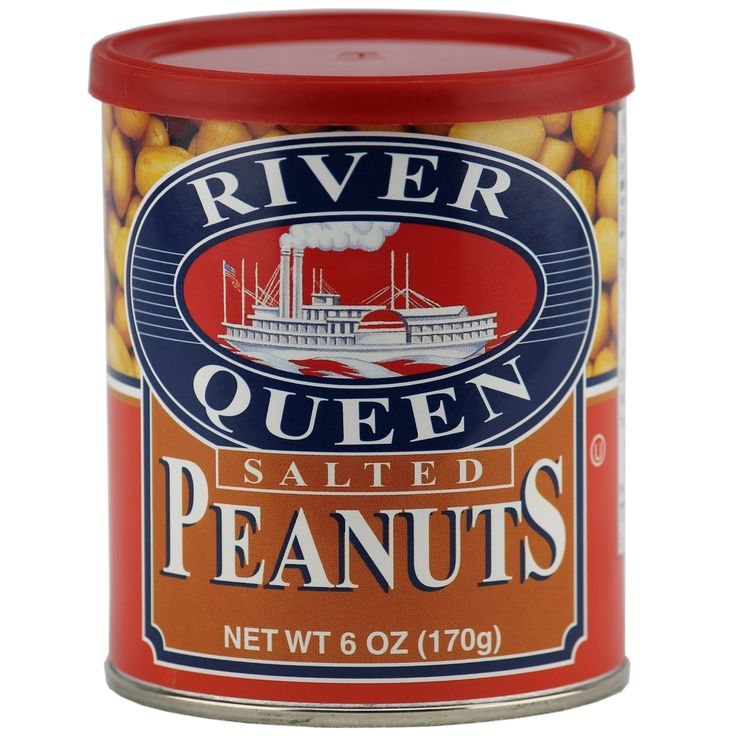 River Queen Salted Peanuts, 6 Ounce