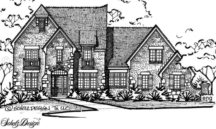 Search Scholz Home Design Services | OTB 130I D | Design 56472 | Craftsman  Home Plan
