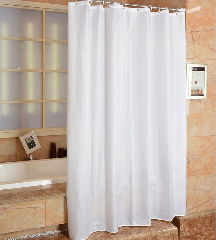 Polyester Shower Curtains Hotels Europe White Waterfull Bath Screens Rideau De Douche Bathroom Curtain Cortina Ducha Shutters #Affiliate