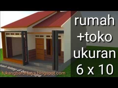Rumah Toko Minimalis Sederhana Youtube Rumah Minimalis Denah Rumah