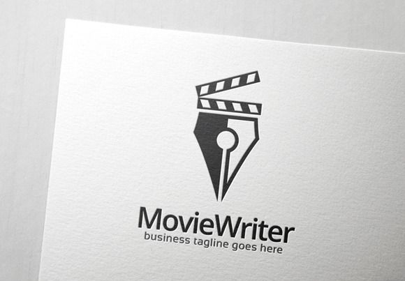 Movie Writer Logo by Slim Studio on Creative Market