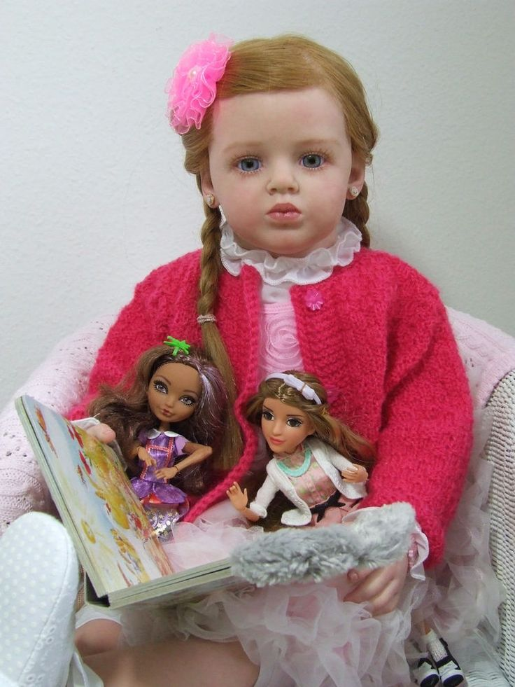 Details About Alexa Reborn Vinyl Doll Kit By Natali Blick