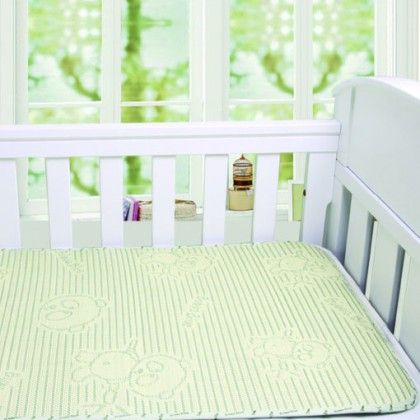 Bubba Blue Cool Mat. A new introductory promotional offer with 50% off! The Bubba Cool Mat is perfect for the warmer weather, the natural flax fibers will keep your baby nice and cool. The mat also absorbs and release's moisture quickly as well as having anti-bacterial and anti-mould properties.
