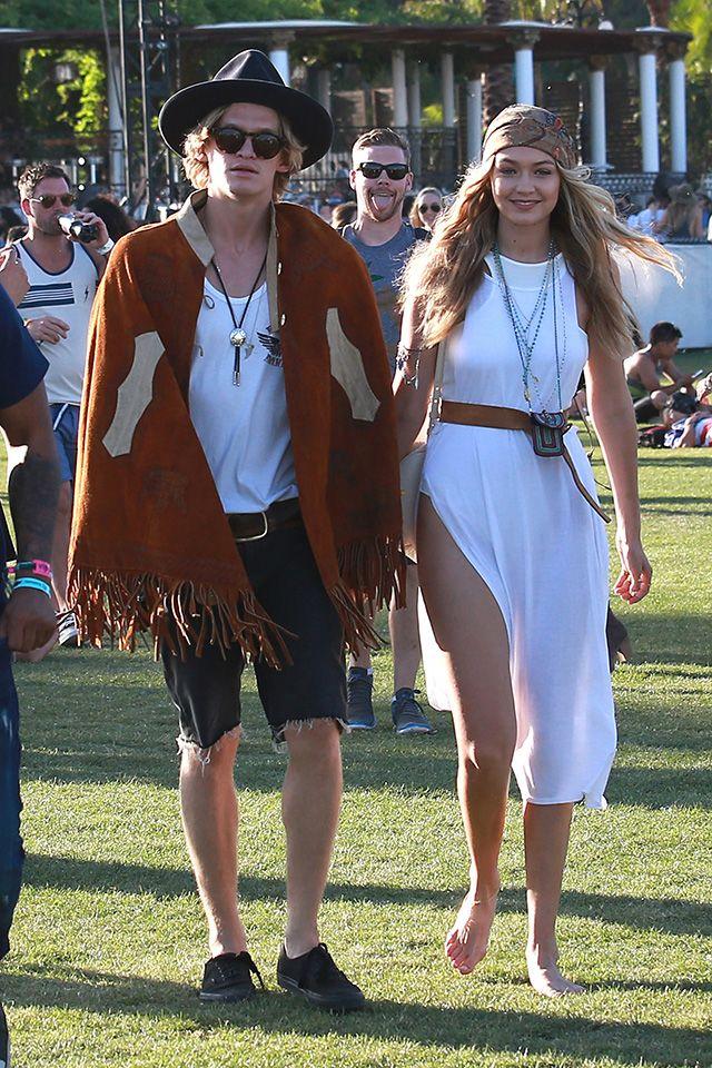 Coachella 2015 : Gigi Hadid & Cody Simpson