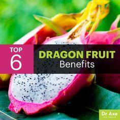 Dragon fruit benefits - Dr. Axe http://www.DrAxe.com #health #holistic #natural