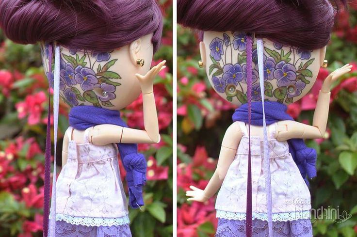 Violetta mostrando a sua linda Tattoo aquarela