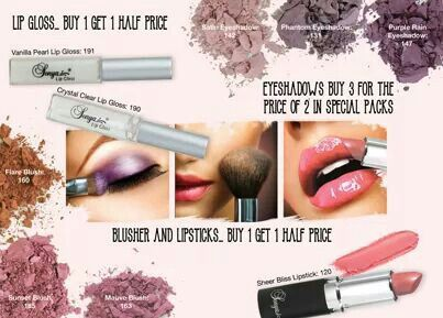 Flawless mineral makeup for the special you this valentine.  Myaloevera.dk / vhs