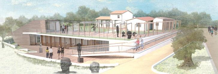 Centro rurale per l'esposizione di opere d'arte  Terni  MARCO EMANUEL FRANCUCCI, FRANCESCO FIORI, NICHOLAS COSCI
