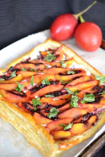 Tamarillo fruit tart