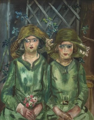 Bridesmaids by Frances Hodgkins