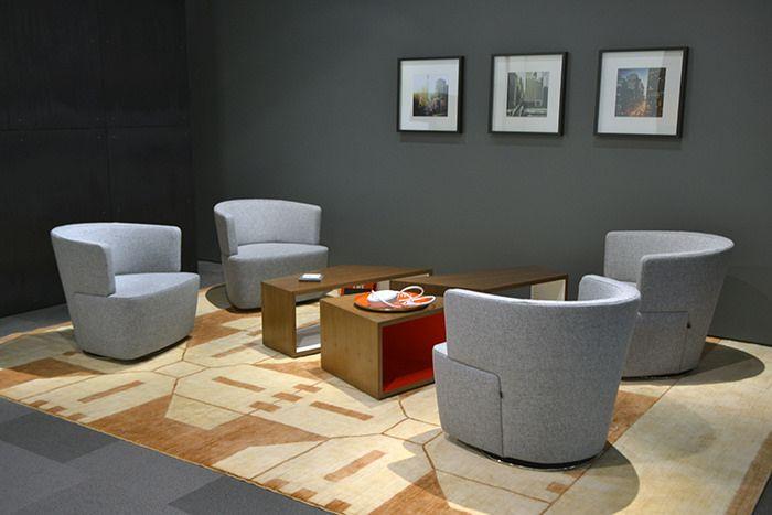 Joel Lounge Chairs With Sebastopol Tables And Arzu Rug