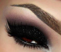 Naked Smoky Eyeshadow Sparkly Black Eye Makeup Mattify Cosmetics Long Lasting Eye Makeup With Built In Primer (TWILIGHT)