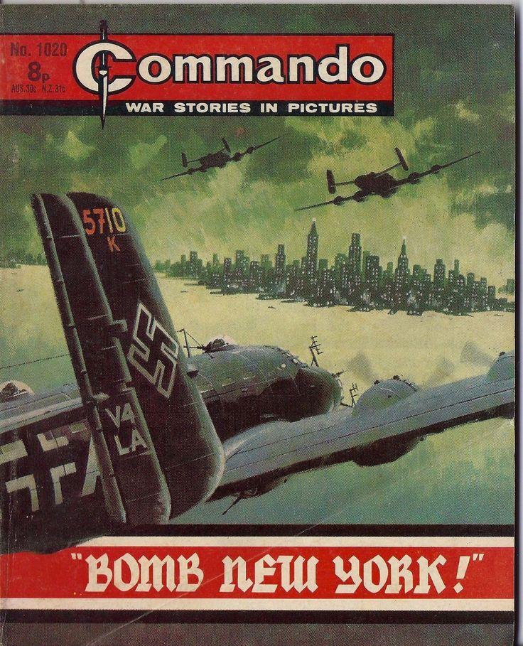 Commando War Stories RARE Vintage Comic 1020 1976