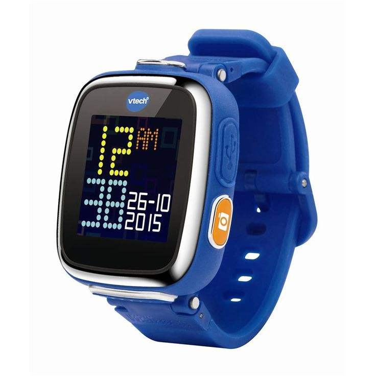 The VTech® Kidizoom® Smartwatch DX is an even smarter watch for kids with more fun games and activities! Perfect for young photographers, this durable smartwatch has more memory so kids can take tons of pictures and videos. Kids will love using the new motion sensor to explore three action challenges! The Smartwatch DX also includes eight games kids can play using the touch screen as well as the ability to download more from Learning Lodge®. The watch helps teach kids how to tell time by…