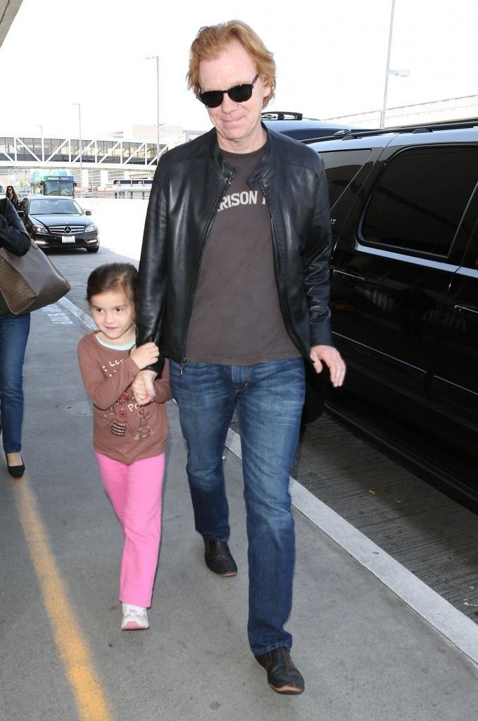 Photo de David Caruso  & son  fille  Paloma Raquel Caruso